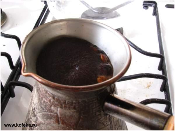 Рецепты варить кофе в турке на плите