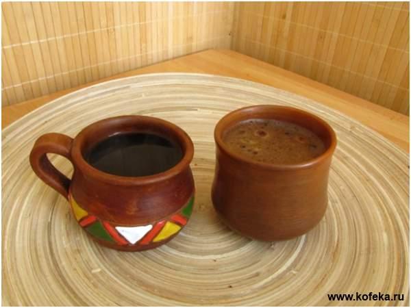 как варить кофе на газу в турке видео
