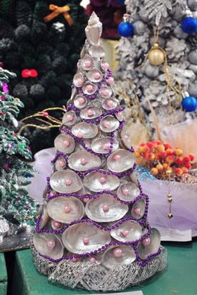 Новогодние поделки из ракушек своими руками