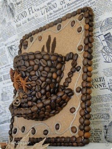 Поделки из кофейных зерен своими руками для начинающих