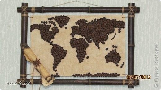 Картины из кофейных зёрен своими руками мастер класс