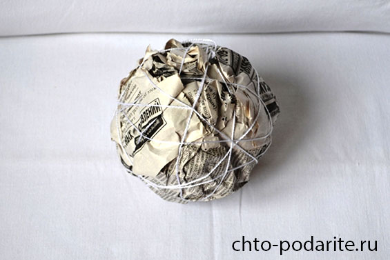 Как сделать шарик из газеты - Infinitiq50-club.ru